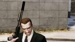Глушитель на оружие для GTA 4