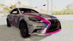 Lexus IS350 FSport Megami no Aqua для GTA San Andreas