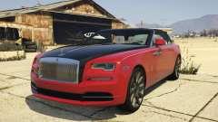 2017 Rolls-Royce Dawn для GTA 5