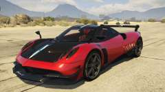 2016 Pagani Huayra BC для GTA 5