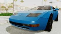 Annis Euros 3.0Z Turbo 1992 для GTA San Andreas