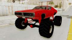 Dodge Charger 1971 Monster Truck для GTA San Andreas