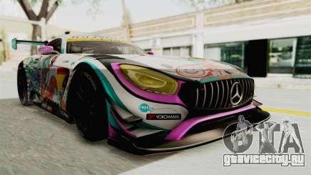 Mercedes-Benz SLS AMG GT3 2016 Goodsmile Racing для GTA San Andreas