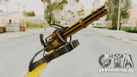 Minigun Gold для GTA San Andreas