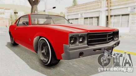 GTA 5 Declasse Sabre GT2 IVF для GTA San Andreas