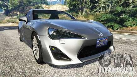 Toyota GT-86 v1.7 для GTA 5