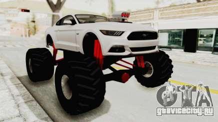 Ford Mustang GT 2015 Monster Truck для GTA San Andreas