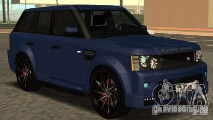 Range Rover Sport Tuning для GTA San Andreas