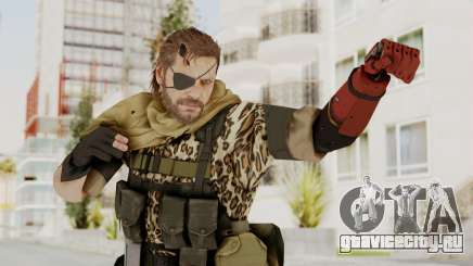 MGSV The Phantom Pain Venom Snake Scarf v8 для GTA San Andreas
