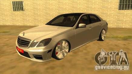 Mercedes Benz E250 Makam Aracı для GTA San Andreas