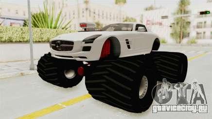 Mercedes-Benz SLS AMG 2010 Monster Truck для GTA San Andreas