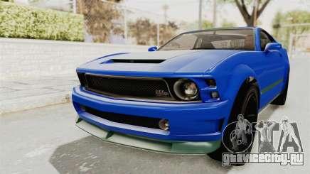 GTA 5 Vapid Dominator v2 IVF для GTA San Andreas