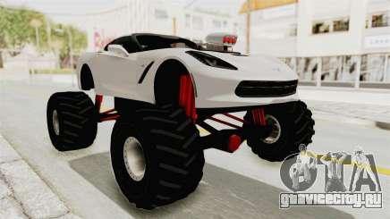 Chevrolet Corvette Stingray C7 Monster Truck для GTA San Andreas