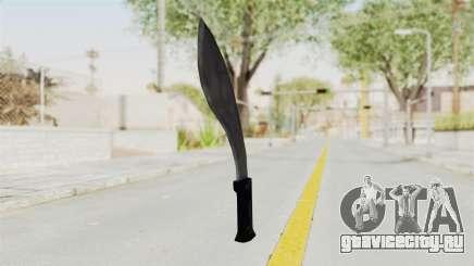 Liberty City Stories - Machete для GTA San Andreas
