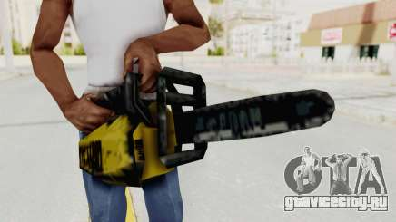 Liberty City Stories Chainsaw для GTA San Andreas