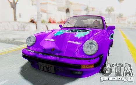 Porsche 911 Turbo 3.2 Coupe (930) 1985 для GTA San Andreas салон