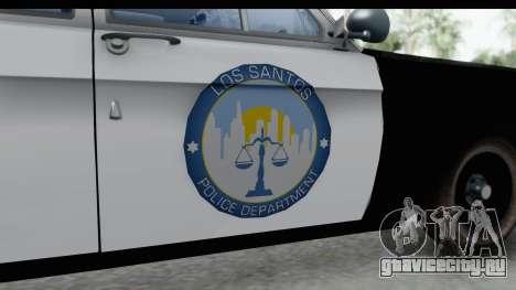 ГАЗ 24 Police Highway Patrol для GTA San Andreas вид сзади