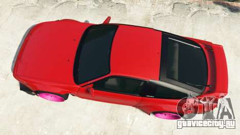 Nissan 180SX Type-X v1.0 для GTA 5 вид сзади