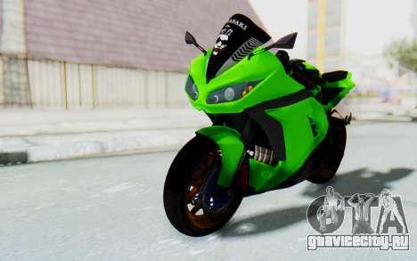 Kawasaki Ninja 250 Abs Streetrace для GTA San Andreas вид справа