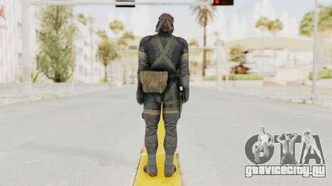 MGSV Phantom Pain Big Boss SV Sneaking Suit v1 для GTA San Andreas третий скриншот