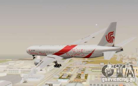 Boeing 777-300ER China Air для GTA San Andreas вид справа