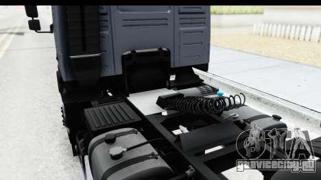 Volvo FMX Euro 5 v2.0.1 для GTA San Andreas вид сбоку