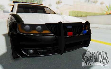 ASYM Desanne XT Pursuit v3 для GTA San Andreas вид сбоку
