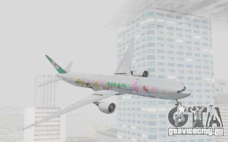 Boeing 777-300ER Eva Air v1 для GTA San Andreas