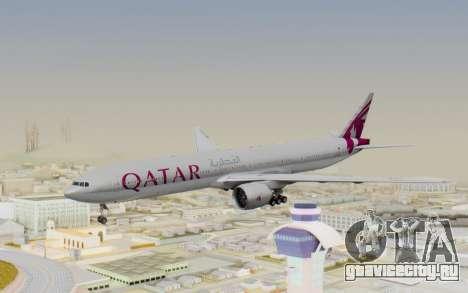 Boeing 777-300ER Qatar Airways v1 для GTA San Andreas