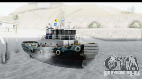GTA 5 Buckingham Tug Boat v2 для GTA San Andreas вид справа