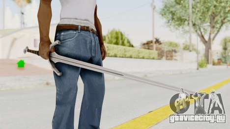 The Witcher 3: Wild Hunt - Sword v1 для GTA San Andreas