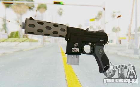 GTA 5 Vom Feuer Machine Pistol для GTA San Andreas