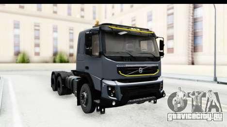 Volvo FMX Euro 5 v2.0.1 для GTA San Andreas вид сзади слева