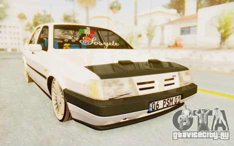 Fiat Tempra Special TR для GTA San Andreas вид сзади слева