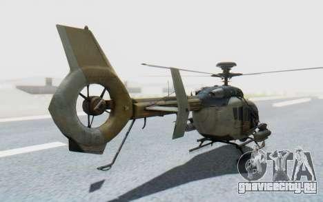 CoD Ghosts - EC-635 для GTA San Andreas вид слева