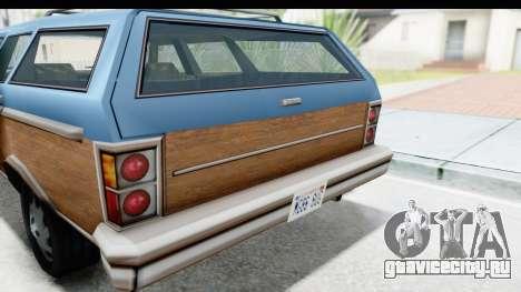 Pontiac Bonneville Safari from Bully для GTA San Andreas вид сзади