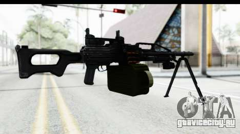 Kalashnikov PK (PKM) Iron Sights для GTA San Andreas третий скриншот