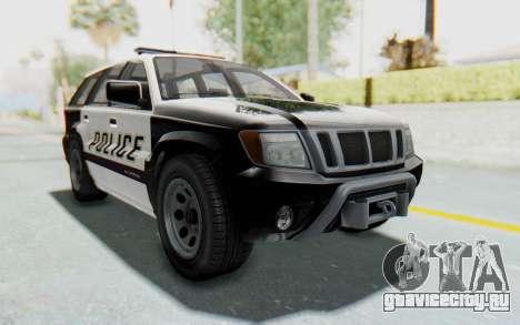Canis Seminole Police Car для GTA San Andreas вид справа