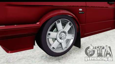 Volkswagen Golf VeloCiti 2008 Updated для GTA San Andreas вид сзади