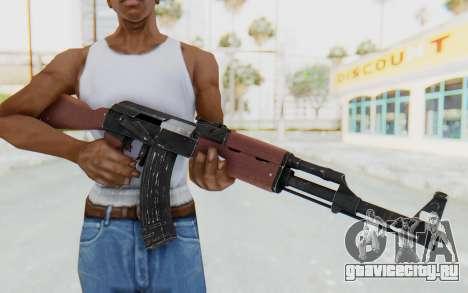 Assault AK-47 для GTA San Andreas третий скриншот