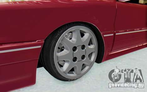 Mitsubishi Galant VR4 1992 для GTA San Andreas вид сзади