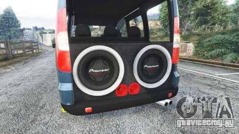 Fiat Doblo для GTA 5