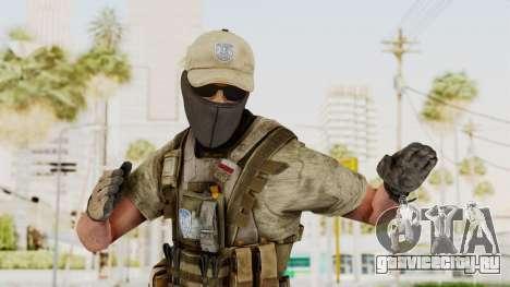 MOH Warfighter Grom Specops для GTA San Andreas