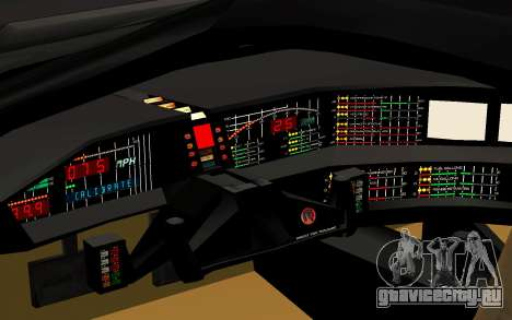 K.I.T.T. 2000 Pilot для GTA San Andreas вид сзади