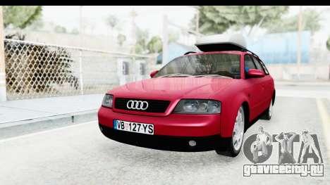 Audi A6 C5 Avant Sommerzeit для GTA San Andreas вид справа