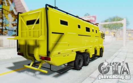 GTA 5 HVY Brickade для GTA San Andreas вид слева
