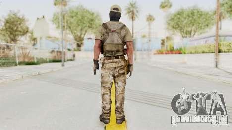 MOH Warfighter Grom Specops для GTA San Andreas третий скриншот
