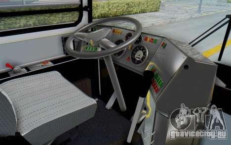 Ikarus 260 Istanbul для GTA San Andreas вид изнутри
