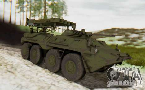 MGSV Phantom Pain ZHUK APC Tank для GTA San Andreas