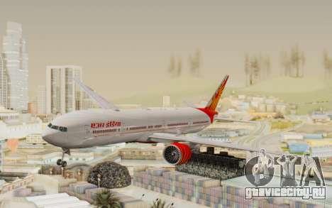 Boeing 777-300ER India Air для GTA San Andreas
